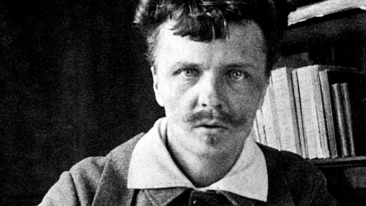 Gregory Motton-August Strindberg self portrait 4
