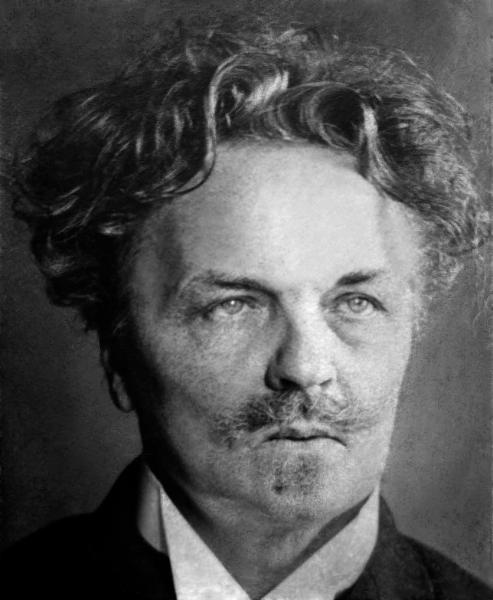 Gregory Motton-August Strindberg self portrait nordiska museet