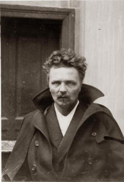 Gregory Motton-August Strindberg self portrait